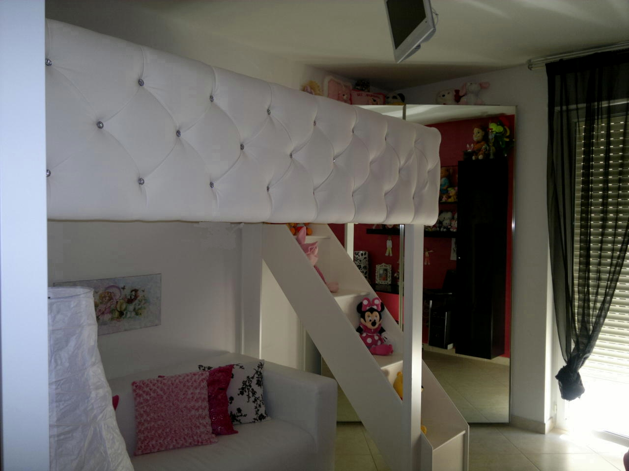 Camera Da Letto Nel Soppalco : Camera da letto soppalco penthouse soggiorno kitchenette e camera